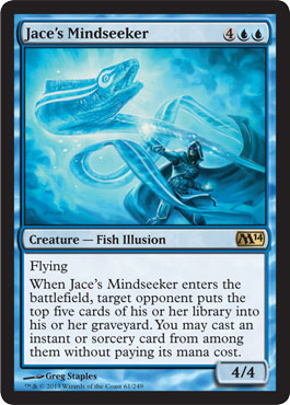 Jace's Mindseeker | Magic: The Gathering Card