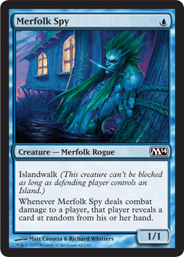 Merfolk Spy | Magic: The Gathering Card