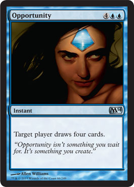 Opportunity | Magic: The Gathering Card