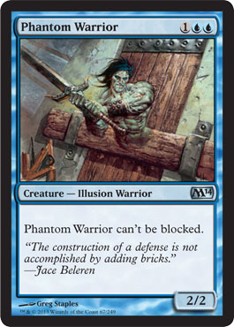 Phantom Warrior | Magic: The Gathering Card