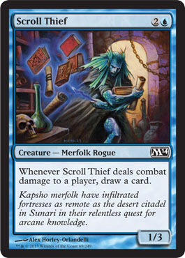 Scroll Thief | Magic: The Gathering Card