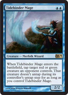 Tidebinder Mage | Magic: The Gathering Card