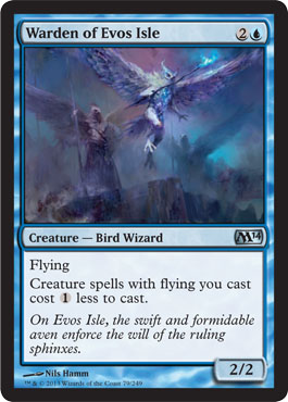 Warden of Evos Isle | Magic: The Gathering Card