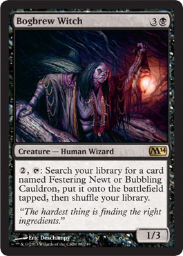 Bogbrew Witch | Magic: The Gathering Card