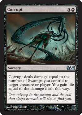 Corrupt | Magic: The Gathering Card