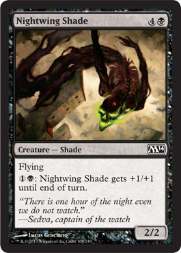 Nightwing Shade | Magic: The Gathering Card