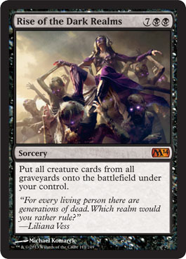 Rise of the Dark Realms | Magic: The Gathering Card