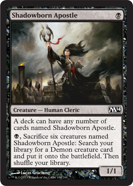 Shadowborn Apostle | Magic: The Gathering Card