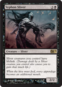 Syphon Sliver | Magic: The Gathering Card