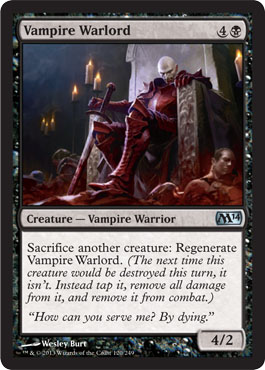 Vampire Warlord | Magic: The Gathering Card
