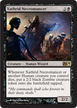 Xathrid Necromancer | Magic: The Gathering Card