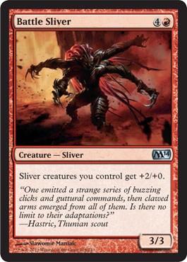 Blur Sliver in Magic 2014 Core Set (M14)