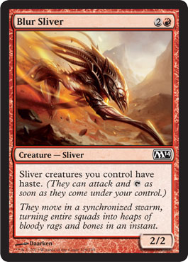 Blur Sliver | Magic: The Gathering Card
