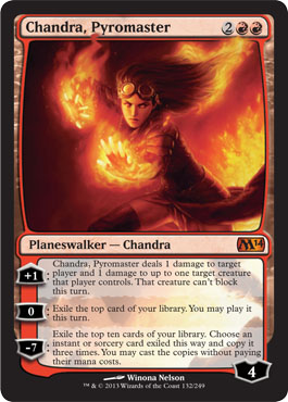 Chandra, Pyromaster in Magic 2014 Core Set