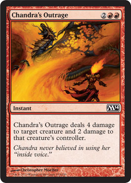 Chandra's Outrage | Magic: The Gathering Card
