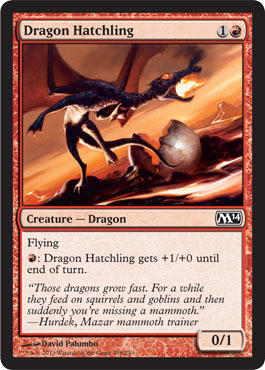 Dragon Hatchling | Magic: The Gathering Card