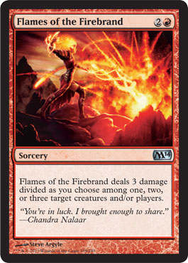 Flames of the Firebrand | Magic: The Gathering Card