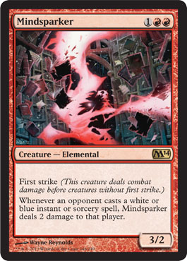 Mindsparker | Magic: The Gathering Card