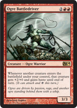 Ogre Battledriver | Magic: The Gathering Card