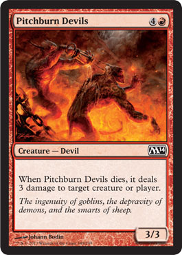 Pitchburn Devils | Magic: The Gathering Card