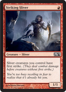Striking Sliver | Magic: The Gathering Card