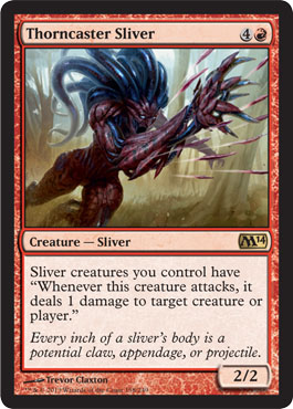Thorncaster Sliver | Magic: The Gathering Card
