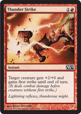 Thunder Strike | Magic: The Gathering Card