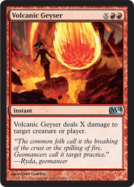 Volcanic Geyser | Magic: The Gathering Card