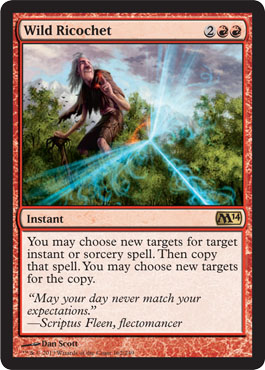 Wild Ricochet | Magic: The Gathering Card
