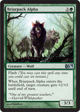 Briarpack Alpha | Magic: The Gathering Card