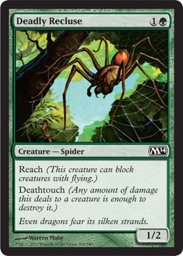 Deadly Recluse | Magic: The Gathering Card