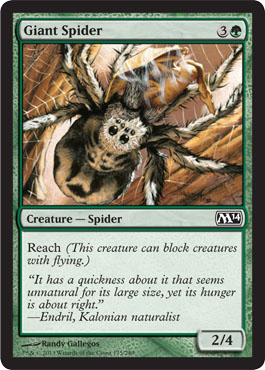 Giant Spider | Magic: The Gathering Card