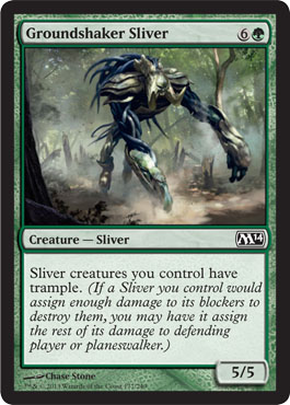 Groundshaker Sliver in Magic 2014 Core Set (M14)