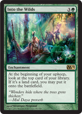 Into the Wilds | Magic: The Gathering Card