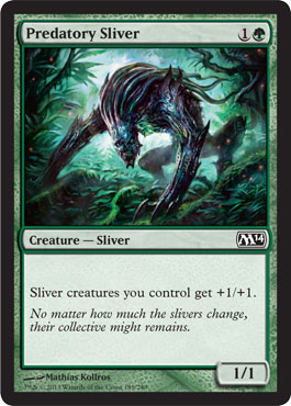 Predatory Sliver | Magic: The Gathering Card