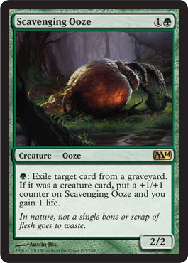 Scavenging Ooze | Magic: The Gathering Card