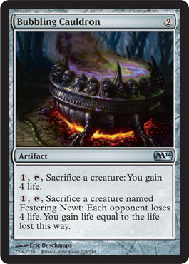 Bubbling Cauldron | Magic: The Gathering Card