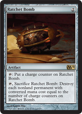 Ratchet Bomb | Magic: The Gathering Card