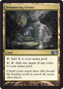 Shimmering Grotto | Magic: The Gathering Card