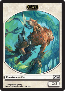 Cat Token | Magic: The Gathering Card