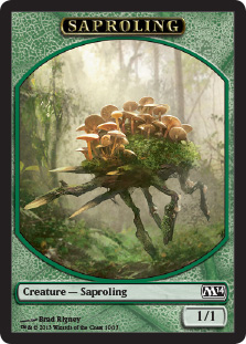 Saproling Token | Magic: The Gathering Card