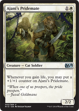 Ajani's Pridemate | Magic: The Gathering Card