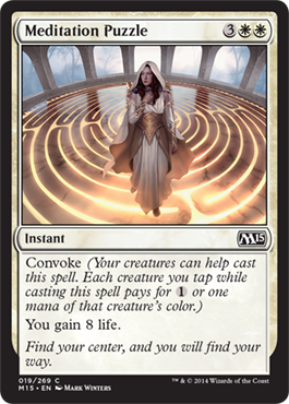 Meditation Puzzle | Magic: The Gathering Card