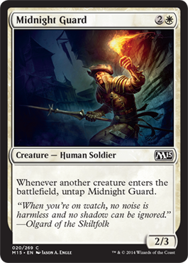 Midnight Guard | Magic: The Gathering Card
