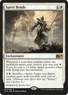 Spirit Bonds | Magic: The Gathering Card