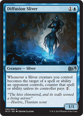 Diffusion Sliver | Magic: The Gathering Card