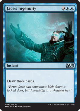 Jace's Ingenuity | Magic: The Gathering Card