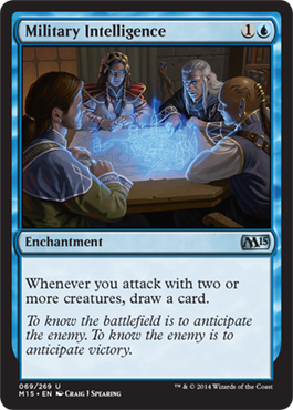 Military Intelligence | Magic: The Gathering Card