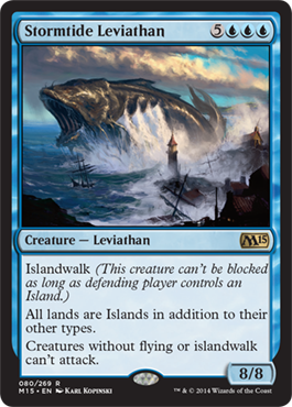 Stormtide Leviathan | Magic: The Gathering Card