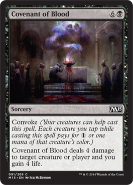 Covenant of Blood | Magic: The Gathering Card
